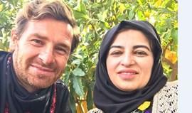 André Villas-Boas na Palestina  a ajudar pessoas  com deficiência