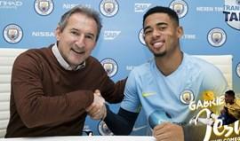 Manchester City oficializa finalmente Gabriel Jesus