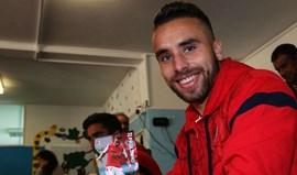 Paulinho lança embate com o V. Guimarães: «Entramos em todos os jogos para vencer»
