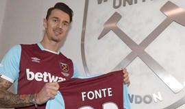 Oficial: José Fonte no West Ham por 9,2 milhões de euros
