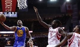 Golden State Warriors reforçam liderança com vitória diante dos Houston Rockets