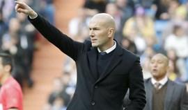 Zidane pede carinho em vez de assobios aos adeptos blancos