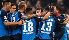 Hoffenheim mantém-se invencível e sobe ao terceiro lugar da liga alemã