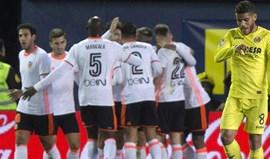 Valencia triunfa em Villarreal com Nani e Cancelo