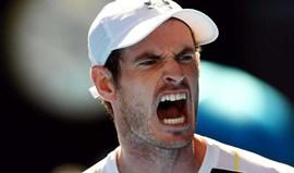 Andy Murray cai nos 'oitavos' frente a Mischa Zverev