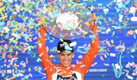 Tour Down Under: Ruben Guerreiro termina em 18.º na consagração de Richie Porte