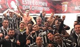 Foi assim que o V. Guimarães celebrou a vitória em Braga