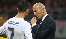 Ronaldo entre as preocupações de Zidane