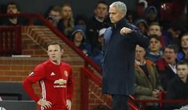 Mourinho e as propostas por Rooney: «Ele é que sabe como quer acabar a carreira»
