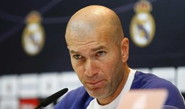 Zidane: «Até parece que estamos em último a jogar para não descer»
