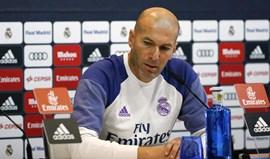 Zidane desdramatiza onda de lesões