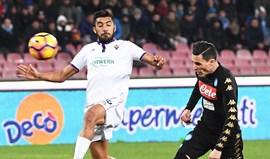 Golo de Callejón afasta Fiorentina da Taça