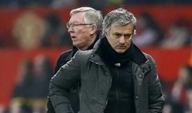 Alex Ferguson diz que Mourinho já está calmo e tem a situação sob controlo