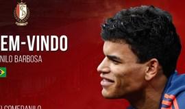 Danilo apresentado no Standard Liège