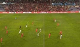 Dramé arrancou em velocidade, fintou Ederson e... golo do Moreirense