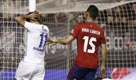 Osasuna não descola dos últimos lugares em Espanha
