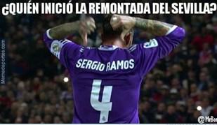 E agora os 'memes' sobraram para... Sergio Ramos
