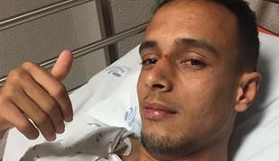 Hamzaoui fica em observação no hospital de Chaves