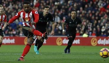 Liverpool empata no terreno do Sunderland e pode ver o Chelsea afastar-se
