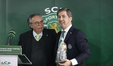 Bruno de Carvalho recebeu troféu... Sem papas na língua