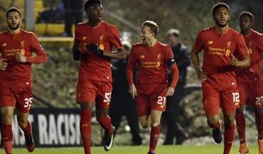 Golo de Lucas dá apuramento ao Liverpool na Taça
