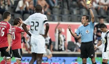 Bruno Esteves arbitra Benfica-Tondela
