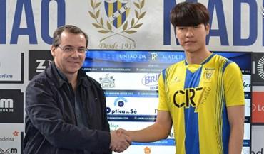 Avançado sul-coreano Min Gu Kang é reforço