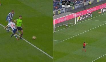 Gil Dias ganhou penálti e Roderick não deu hipóteses a Casillas