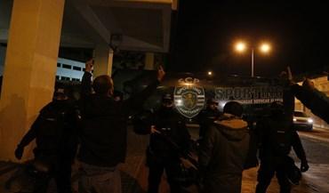 Assim foi a receção ao plantel do Sporting em Alvalade