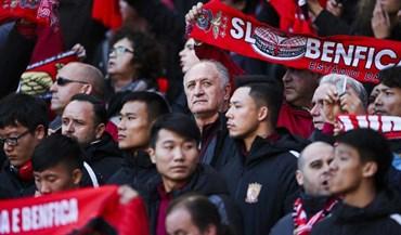 Scolari: «Está tudo a funcionar muito bem no Benfica»