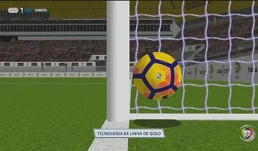 Tecnologia da linha de golo 'dita' golo do Moreirense