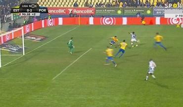 Corona sentou um adversário e fez assim o segundo golo portista
