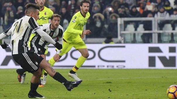 Golaço de Dybala coloca a Juventus em vantagem