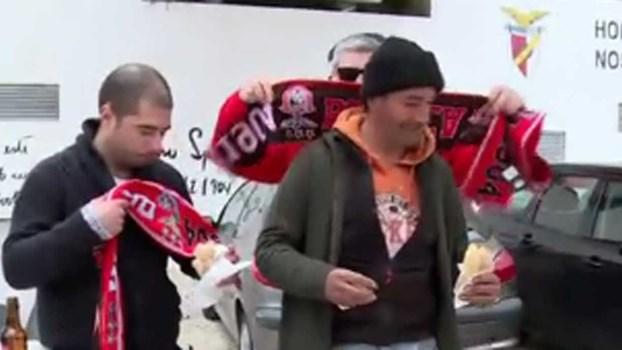 Benfica devolve sorriso: uma história de vida com futebol à mistura