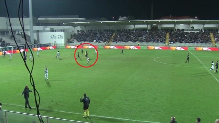 Imagens inéditas da expulsão de Danilo: o choque com o árbitro foi acidental ou não?