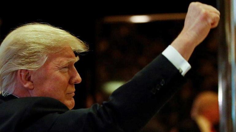 Resultado de imagem para posse Donald Trump