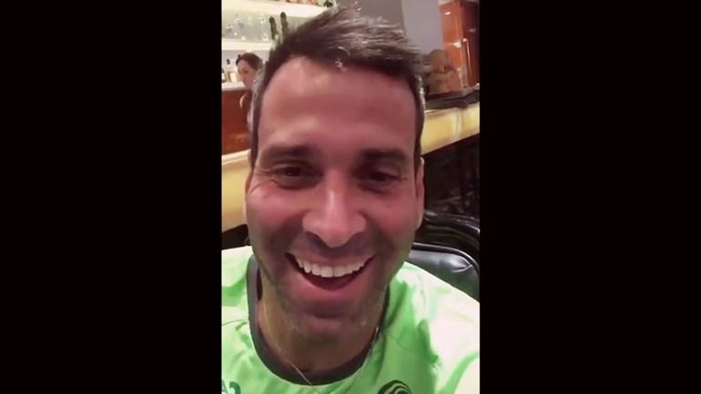 A gargalhada de Artur Moraes ao saber da derrota do Sporting
