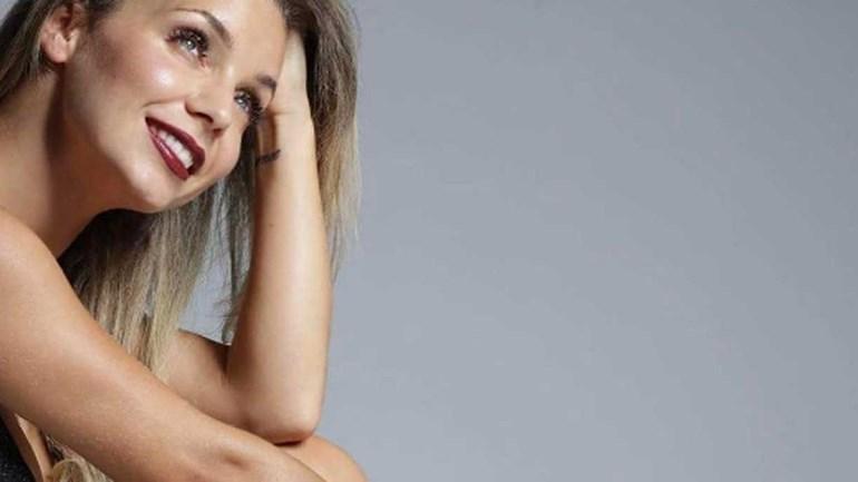 Luciana Abreu e um momento de inspiração