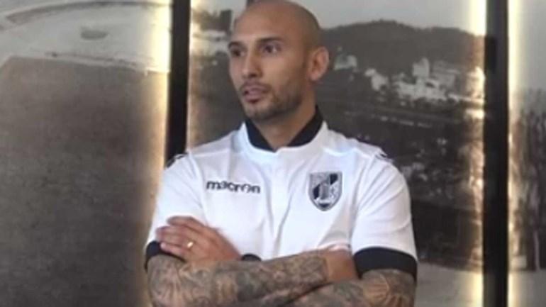 Rafael Martins já deixa promessas aos adeptos do V. Guimarães
