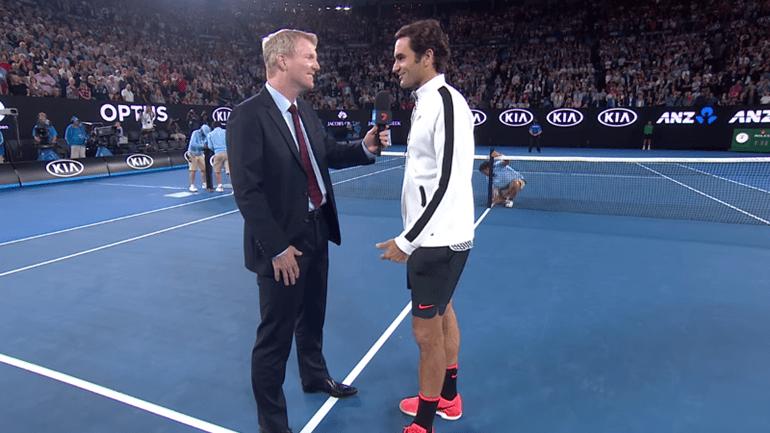 Uma das filhas de Federer torceu para que o pai... perdesse. Ele explica porquê!