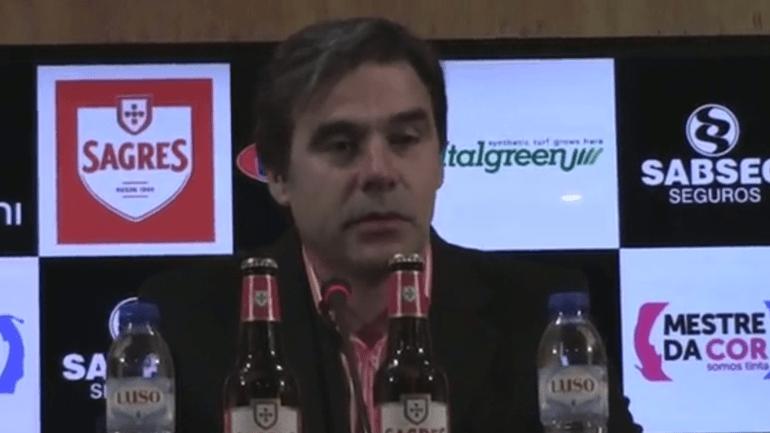 Miguel Leal: «Bulos reforça o nosso jogo aéreo»