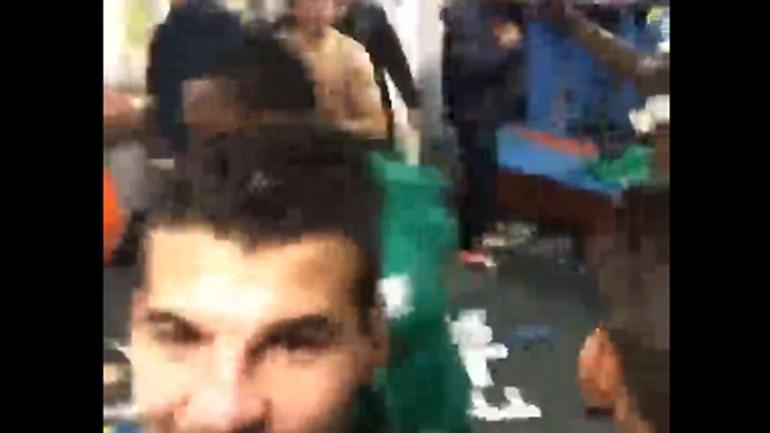 Assim foi a festa no balneário do Moreirense
