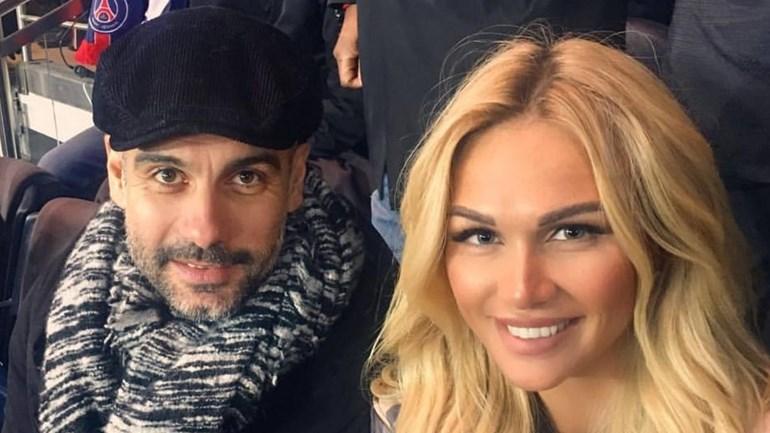 Guardiola foi ver o PSG-Monaco e ficou... muito bem acompanhado