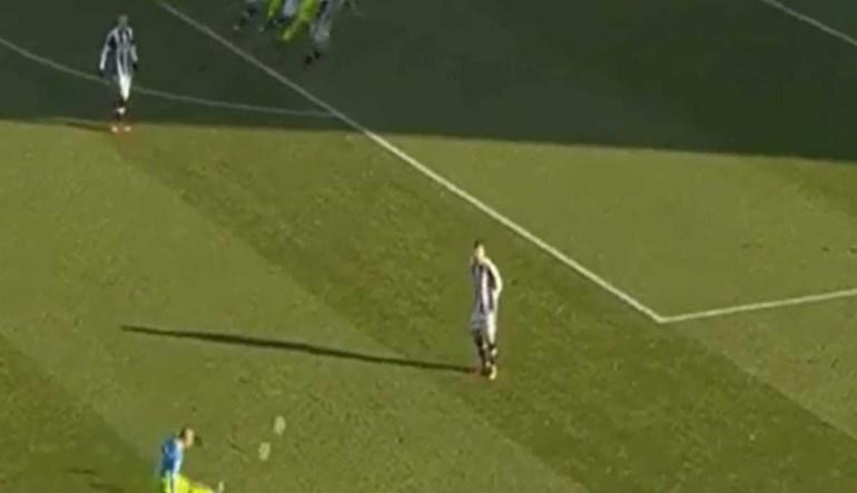 Inter venceu aos 87' porque João Mário colocou a bola na cabeça de Perisic