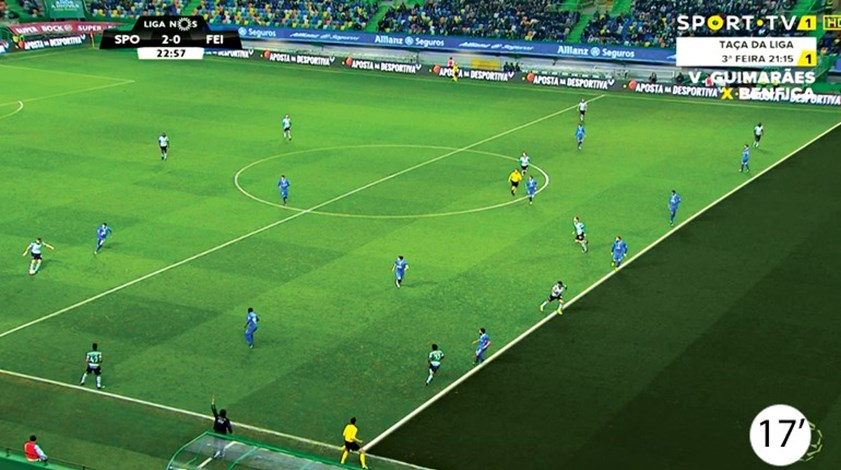 Os casos do Sporting-Feirense: Demasiados erros de Bruno Esteves