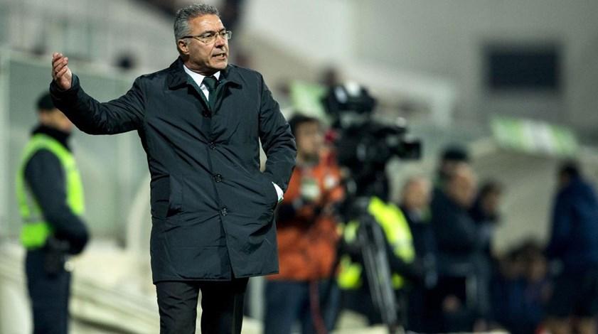 Augusto Inácio: «Não gostei da personalidade da minha equipa com bola»