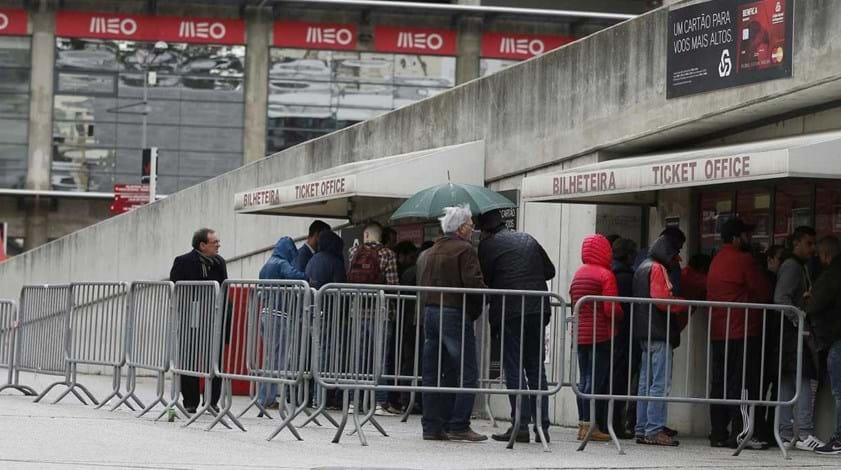 Bilhetes para o Moreirense à venda quarta-feira