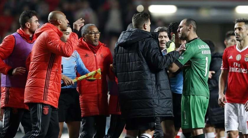 Agayev suspenso por três jogos devido ao que se passou na Luz
