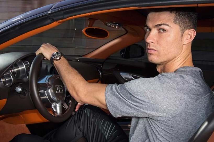 Onde irá Ronaldo... assim?