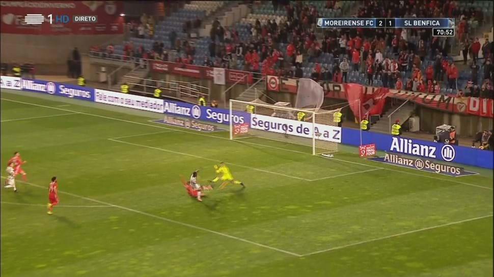 Podence em grande no terceiro golo do Moreirense